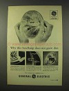 1949 General Electric Headlamps Ad - Does Not Grow Dim