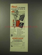 1949 Johnson Sea-Horse Outboard Motor Ad!