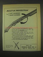 1949 Ithaca Featherlight Repeater Shotgun Ad