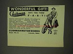 1949 Cushman Motor Scooter Ad - Wonderful Gift
