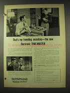 1948 Dictaphone Time-Master Dictation Machine Ad