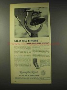 1948 Remington Rand Kardex Ad - Great Bell Ringers