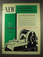 1948 A.B. Dick 400 Line Mimeograph Ad - Speed Ease