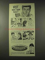 1948 Phillips Milk of Magnesia Ad - Why Was I Born?