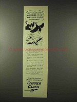 1948 Pan American Clipper Cargo Ad - Gifts by Christmas
