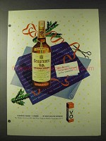 1948 Seagram's V.O. Canadian Whisky Ad - Man Plans