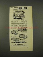 1948 Crosley Convertible, Station Wagon, Pick-Up Ad