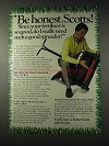 1982 Scotts Turf Builder, Spreader Ad - Be Honest