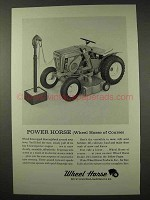 1964 Wheel Horse Lawn Tractor Ad - Power Horse
