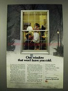 1980 Anderson Windows Ad - Won't Leave You Cold