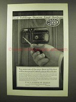1926 Corbin Hardware Locks Ad - Night Latch 356