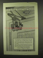 1926 Corbin Hardware Ad - Door Check