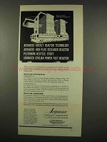 1962 Argonne National Laboratory Ad - Rocket Reactor