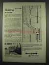 1962 Honeywell 906 Visicorder Ad - Watches a Bolt