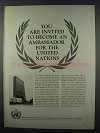 1962 United States Committee for the United Nations Ad