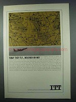 1962 ITT Communications Ad - Today They Fly
