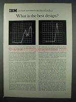1962 IBM Computers Ad - What is the Best Design