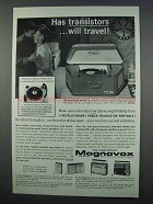 1962 Magnavox Stereograph Deluxe Phonograph Ad