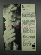 1962 Bufferin Tablets Ad - Tension Taxes Your Body