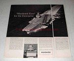 1962 Hughes Aircraft Ad - U.S.S. Enterprise Radar
