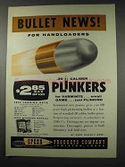 1961 Speer .30 Caliber Bullets Ad - For Handloaders