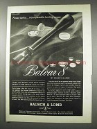 1961 Bausch & Lomb Balvar 8 Scope Ad - Incomparable