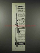 1961 Mossberg Model 340B Rifle, 320K Rifle Ad - Quality