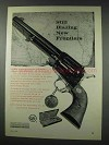1961 Colt Single Action Army Revolver Ad - Frontiers