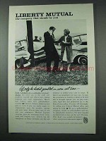 1961 Liberty Mutual Insurance Ad - If Only He Hadn't