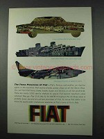 1961 Fiat Ad - Car, Marine Diesel, NATO G91 Jet Fighter