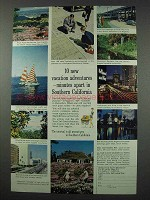 1961 Southern California Ad - Vacation Adventures