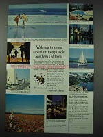 1961 Southern California Ad - A New Adventure