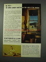 1961 Caterpillar Tractor Co. Ad - 30 Million People
