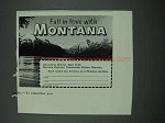 1961 Montana Tourism Ad - Fall in Love With