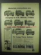 1960 U.S. Royal Tires Ad - Motorists Everywhere