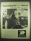 1960 Super National Petrol Ad - There's Nothing Like