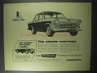 1960 Standard Vignale Vanguard, Ensign Car Ad