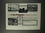 1960 Michigan Tourism Ad - A Michigan Explorer