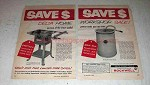 1960 Rockwell Delta Homecraft Tilting Circular Saw Ad