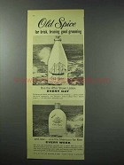 1959 Old Spice After Shave Lotion, Shampoo Ad