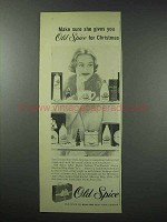 1959 Old Spice Shaving Toiletries Ad - For Christmas