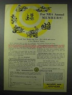 1959 National Rifle Association Ad - For Annual Members