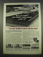 1963 The Asphalt Institute Ad - What's At The Bottom