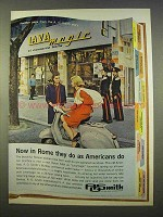 1963 A.O. Smith Water Heater Ad - Now in Rome