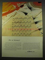 1963 Celanese Chemicals Ad - Art or Science