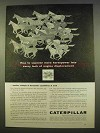 1963 Caterpillar Tractor VHO Engine Ad - Horsepower