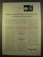 1963 Honeywell Research Center Ad - Semiconductors