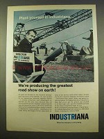 1963 Indiana Department of Commerce Ad - Road Show