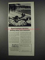 1963 Southern California Ad - Good Business Decision