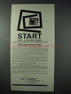 1963 Los Alamos Scientific Laboratory Ad - Start